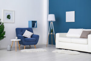 Living room painting services