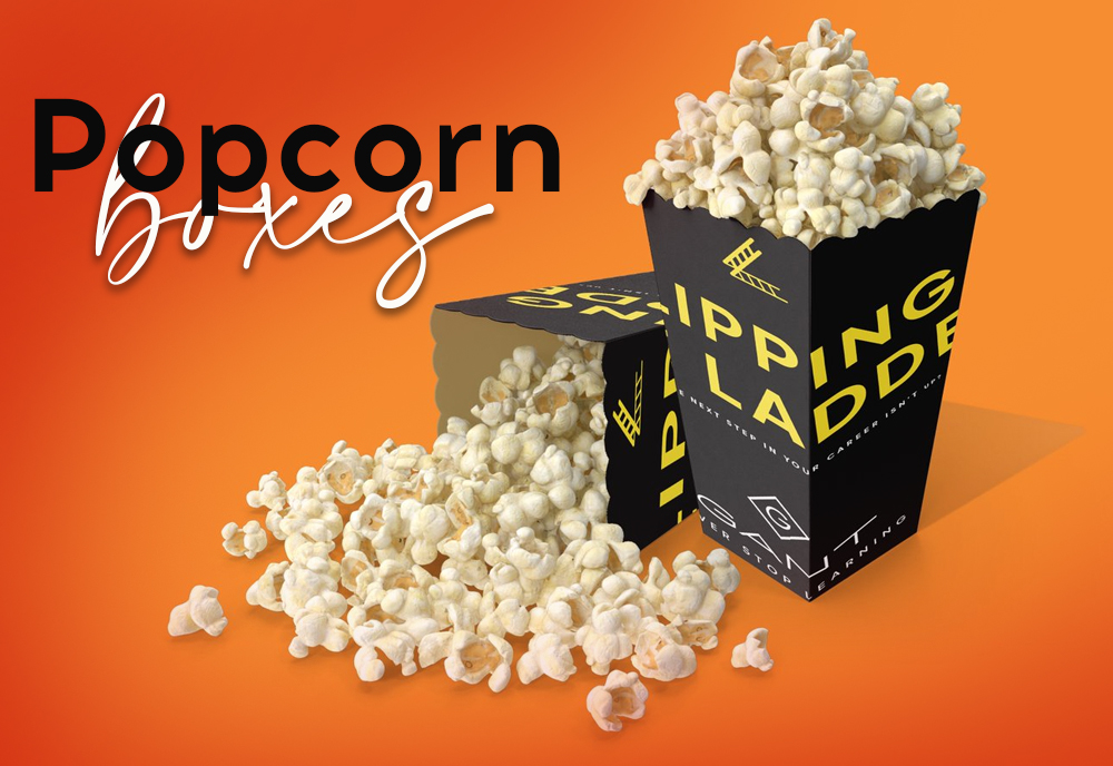 Attract Your Customers Via Customized Popcorn Boxes in 6 Easy Steps