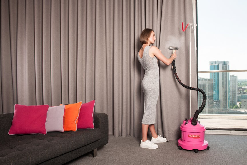 How you can clean the curtains at your home?