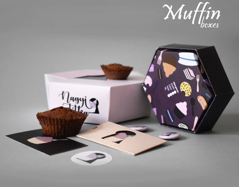 custom printed muffin boxes, Custom Printed Muffin Boxes is all that you need for the Packaging