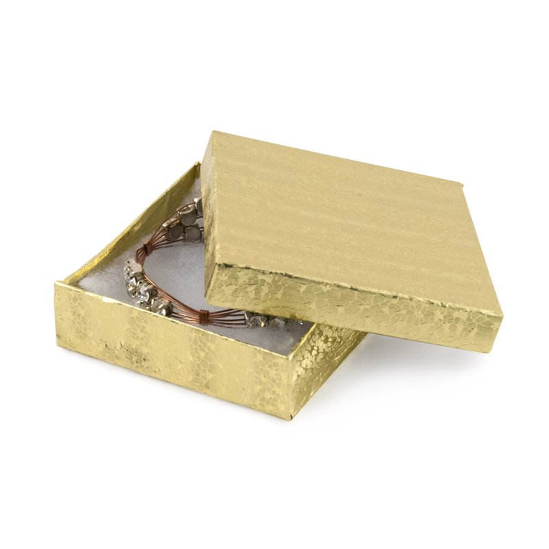 Is there any real Gold Paper exists on the Gold Foil Boxes?