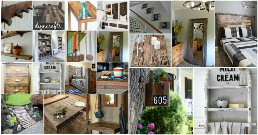 Benefits and Ideas of Using of Reclaim Wood in Home Decor