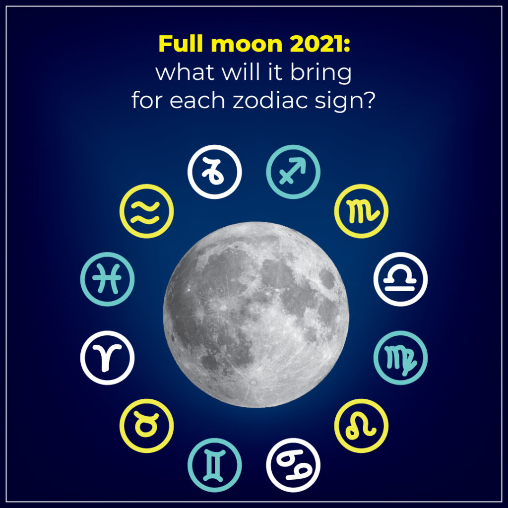 Full Moon 2021: What will it Bring for Each Zodiac Sign?