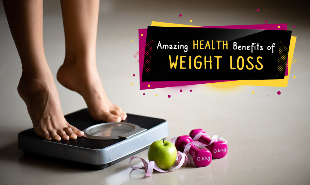 Amazing Health Benefits of Weight Loss