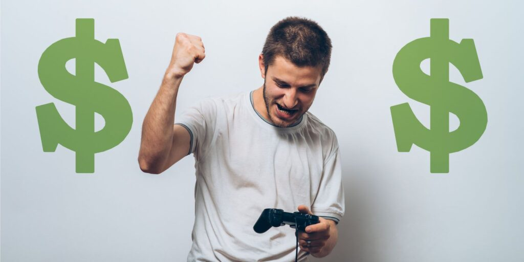 How gamings become popular to earn money?