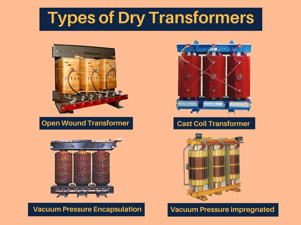 Dry Type Transformer for Industrial Uses