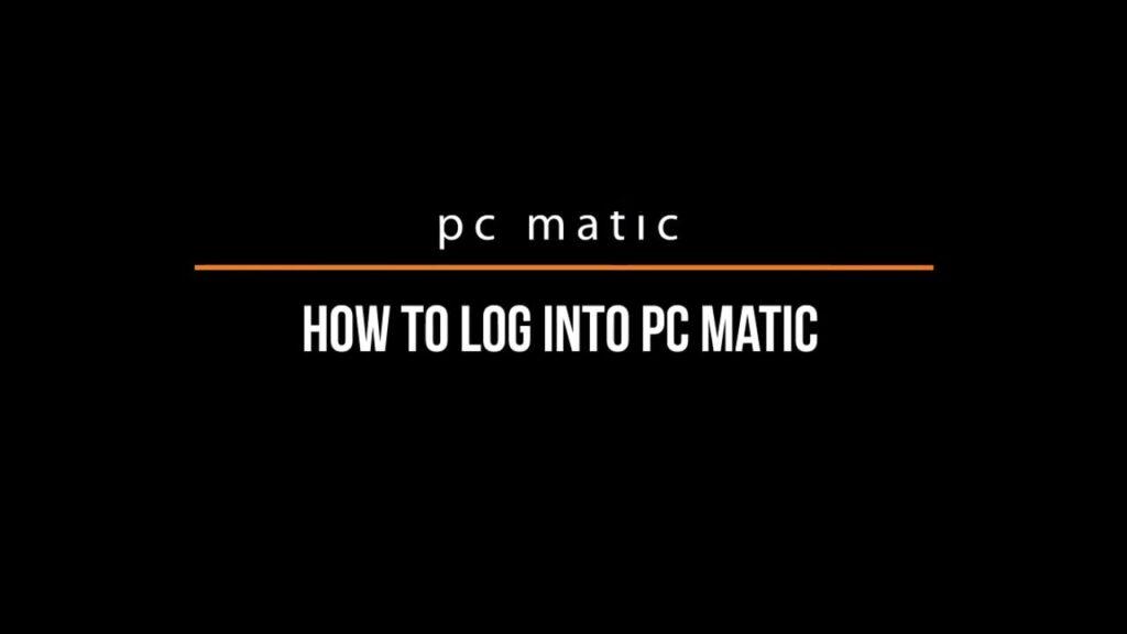 PC Matic Login, Install, Uninstall & Reinstall