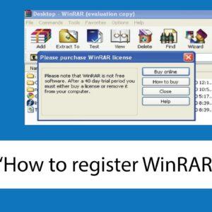 activate WinRAR