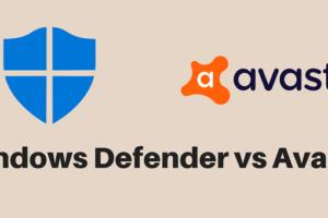 Windows Defender or Avast Free Antivirus