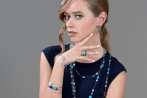 wearing jewelry